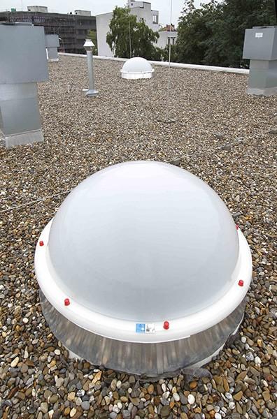 Luminator cupola industrial